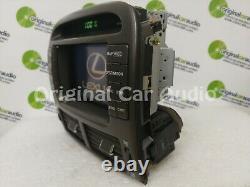 01 02 03 04 LEXUS LS430 Navigation GPS LCD Display Screen Monitor Dash Bezel OEM