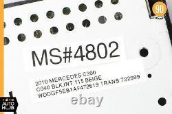 08-11 Mercedes W204 C300 C250 GPS Navigation LCD Display Screen Monitor OEM