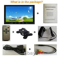 10.1 CCTV Monitor HDMI VGA AV RCA Display Monitor for Raspberry Pi 3/2/B+/PC