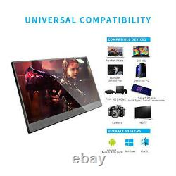 10.1'' Portable Gaming Monitor 2560x1600 IPS LCD Display for Xbox 360 Drone PS4