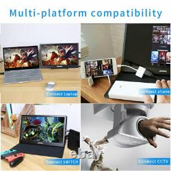 10,1 Touchscreen Tragbarer Gaming Monitor LCD Display 13,3-Zoll-Tablet Monitor