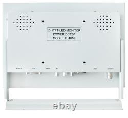 10 Inch Metal Shell BNC HDMI VGA AV Interface HD Monitor Display LCD
