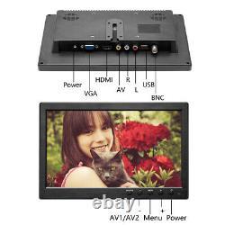 101 TFT Display Monitor VGA BNC Audio HDMI Video For PC Security CCTV Camera