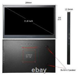 11.6 inch Portable Display 1920x1080 Monitor HDMI for Raspberry Pi PS4 Xbox360