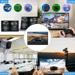 13.3 4K Portable Gaming Monitor IPS HD LCD Display with USB HDMI Movie Program