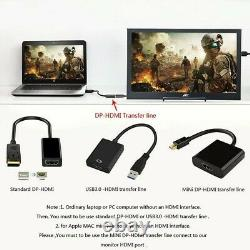 13.3 IPS 2K LED LCD Gaming Monitor Portable for PS4 XBOX 1080P HDMI Display