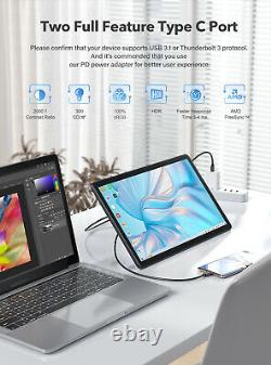 15.6 Touchscreen Monitor UPERFECT y 19201080 Full HD LCD Display IPS Panel USB
