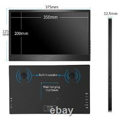 15.6 inch Monitor 1920X1080 Portable Monitor Ultra Slim Display Type C IPS LCD