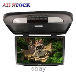 18.5'' Car Monitor Display Monitor With LED Light TFT LCD Car Roof Mount Flip Down