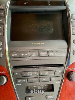 2007 2008 2009 LEXUS ES350 Navigation GPS Monitor LCD Display Screen OEM