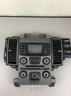2013-2019 Ford Taurus Cd/radio Ac Climate Control Air Vents Bezel Egit-18a802-fb