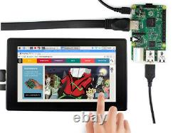 7 1024x600 HDMI LCD IPS Display Capacitive Touch for Raspberry Pi monitor QITA