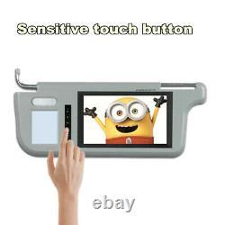 7 Car Sun Visor LCD Monitor Mirror Display For DVD/VCD/GPS/TV Camera Left&Right