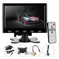 7inch TFT LCD Touch Screen CCTV Security Monitor Display HD TV AV VGA HDMI Input