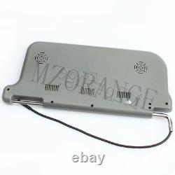 9 TFT LCD Car Sun Visor Monitors DVD Display Video Rear View Mirror Right Gray