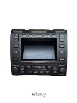 98 99 00 Lexus ls400 Radio Tape Climate GPS Voice Info Display OEM X4833