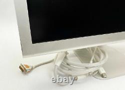 Apple 23 Cinema Display Widescreen TFT LCD Monitor (Aluminum) A1082 (Grade C)