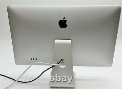 Apple 27 Cinema Display LED 2560x1440 LCD Monitor Thunderbolt Magsafe MC007LL/A
