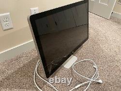 Apple 27 Thunderbolt Monitor A1407 LCD Widescreen 2560 X 1440 Display MC914LL/B