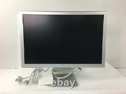 Apple Cinema Display 20 LCD Computer Monitor with DVI Connectors M9177LL/A