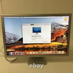 Apple Cinema HD Display A1083 30 Widescreen LCD Monitor / No Power Adapter