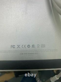 Apple Cinema LED Display 27 Widescreen Monitor A1316 MC007LL/A