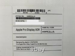 Apple Pro Display XDR 32 IPS LCD Retina 6K Standard Glass Display Only NEW