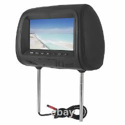 Car Back MP5 Multimedia Player Monitor DVD Headrest LCD Display