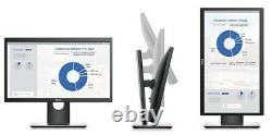 Dell P2017H 20 Professional LED LCD HD Display Monitor Black HDMI DP- VGA