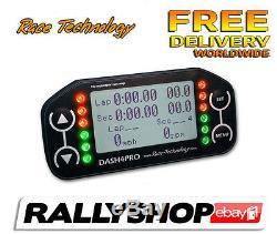 Display Dash 4 Pro LCD Race Technology Digital Performance monitor lap timing