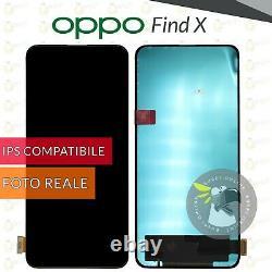 Display Oppo Find X Cph1871 Cph1875 LCD + Touch Screen Schermo Vetro Monitor