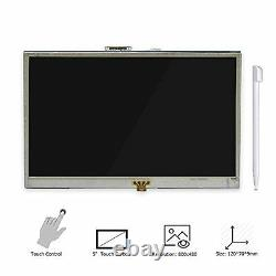 Elecrow 5 Inch Touch Screen HDMI Monitor HD 800x480 TFT LCD Display for Raspberr