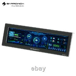 External Display 8.8 IncH LCD screen for PC CPU Hardware Sync Temp Monitor