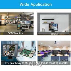 Eyoyo 14 HDMI LCD Monitor VGA BNC AV USB Display Screen Gaming For Laptop DVD