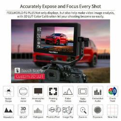 FEELWORLD F6 Plus 5.5 inch HDR 3D Lut DSLR Camera Field Touch Screen Monitor