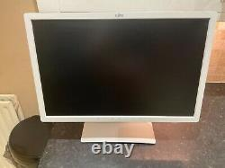 FUJITSU DISPLAY B24W-7 LED 24 PC MONITOR 1610 1920 x 1200 ARCTIC WHITE