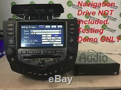 HONDA Accord Navigation Radio GPS LCD Display Screen Monitor 6 Disc Changer CD