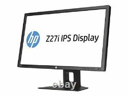 HP D7P92A8#ABA Z Display Z27i 27'' LED-Backlit LCD Monitor, Black used, Grade B