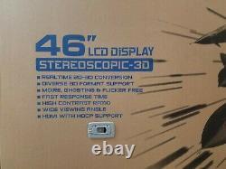 HYUNDAI 46In STEREOSCOPIC 3D LCD Display S465D(3D)