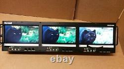 Marshall Electronics V-R653P-HDSDI Triple 6.5 Serial Digital HD/SD Monitor Set