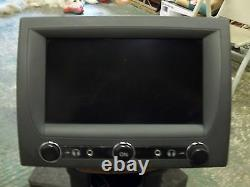Mercedes S Class 2003 W220 S600 Black Rear Center Console Display LCD Tv Monitor