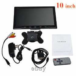 Mini 10 LCD PC Screen Display Gaming Monitor HDMI For Raspberry Pi PS4 XBOX ONE