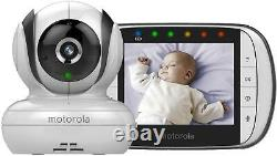 Motorola MBP36S Digital Video Baby Monitor Colour LCD 3.5 Display
