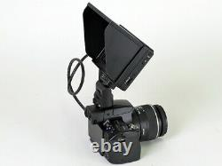 New Sony CLM-V55 5 HDMI On-Camera LCD Monitor with Peaking Clip-On Type