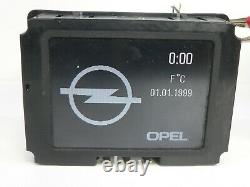 Opel Astra G Zafira A Omega Vectra B Display LCD CID Monitore Virgin 24459629