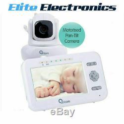 Oricom Sc850 Secure850 Digital Baby Monitor 4.3 Color LCD Display Pan-tilt Cam