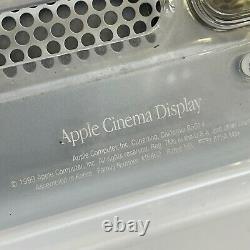Original 1999 Apple Cinema Display 22 inch M5662 Polycarbonate Easel