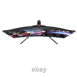 PC Gaming Monitor 144Mhz 24 Inch Curved LED Widescreen HDMI / Display Port Pixl