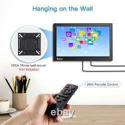 Portable 12 HDMI Monitor 1366x768 withVGA BNC AV Inputs for PC TV-Box FPV Display