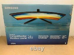 Samsung CF396 24 Curved LED LCD Display 1080p READ
